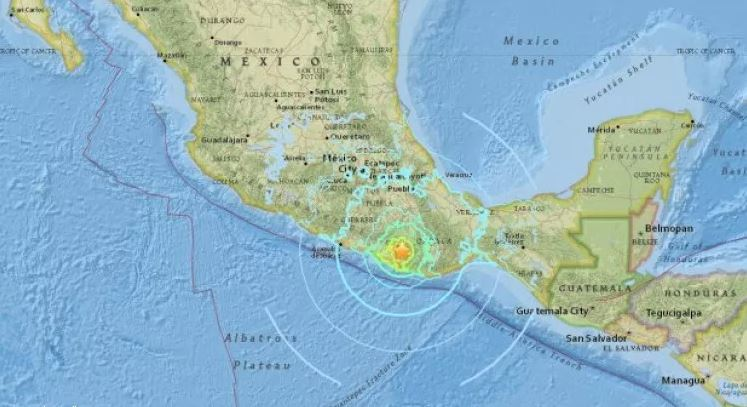 Saudi embassy issues alert following 7.2 magnitude quake in Mexico