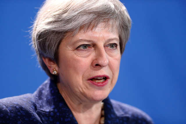 May pleads for 'urgent' post-Brexit EU security deal