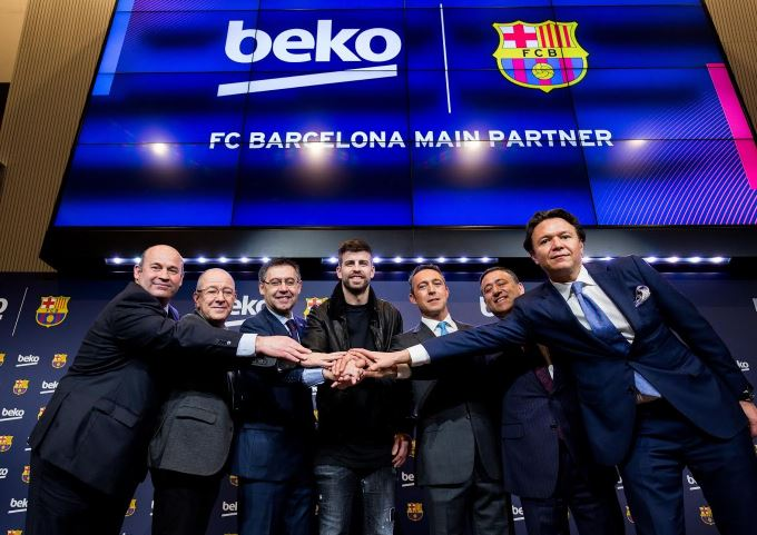 VIDEO: Beko becomes FC Barcelona's new Main Global Partner, announces Piqué as global ambassador