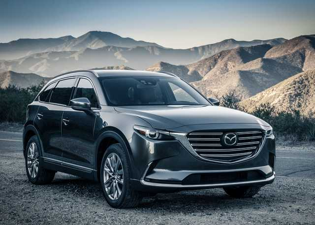 New Mazda CX-9  a hi-tech family car