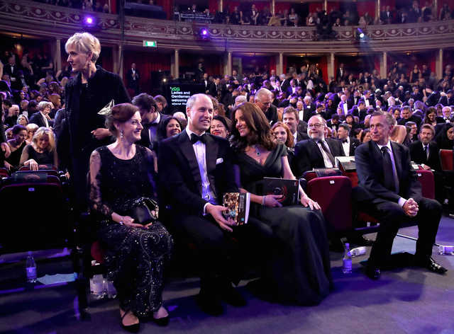 Hollywood: PHOTOS: 'Three Billboards' tops Baftas as 'Time's Up' campaign shares stage