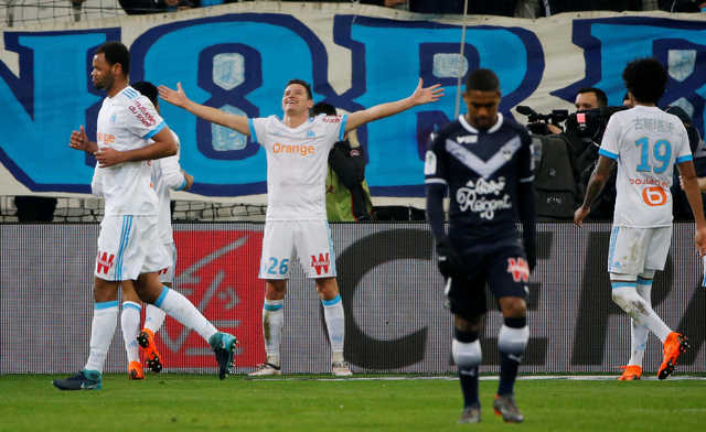 Ligue 1: Thauvin boosts Marseille as Lyon lose more ground