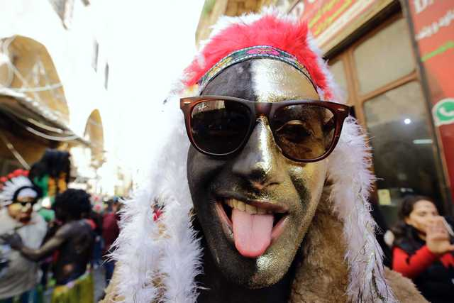 Middle East News: PHOTOS: Lebanese mark mysterious Zambo festival in Tripoli