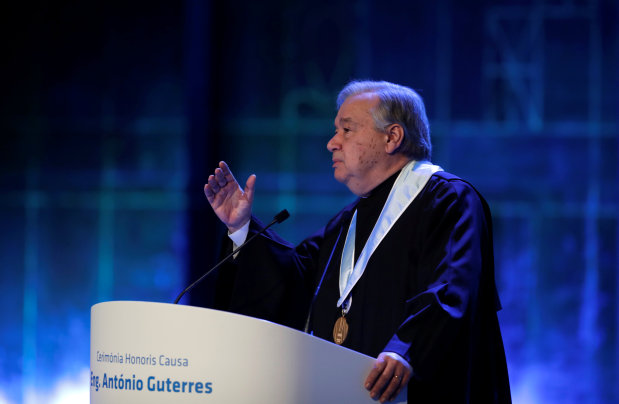 UN chief urges global rules for cyber warfare