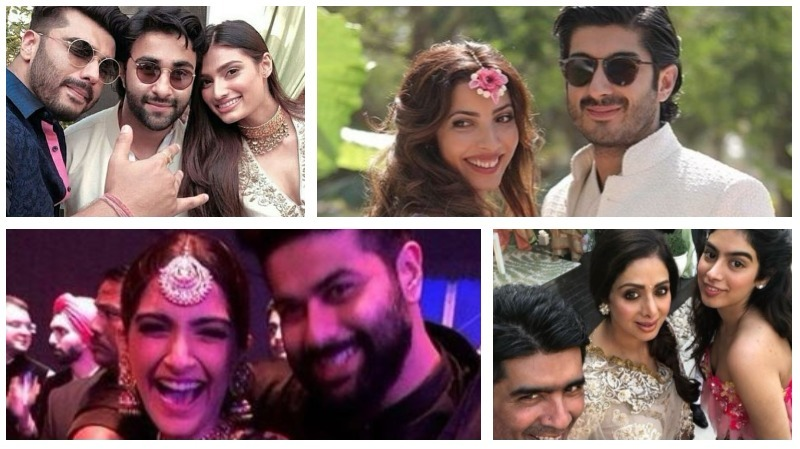 Starry wedding celebrations: Sridevi, Khushi, Sonam, Karan Johar, Arjun Kapoor in Dubai