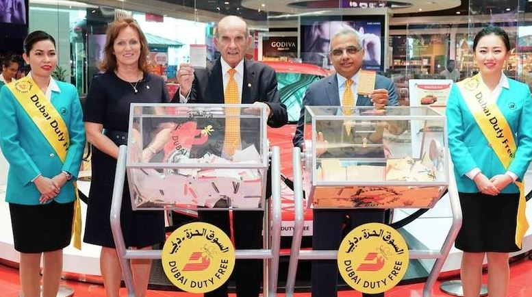 $1m bonanza for Indian expat in Dubai Duty Free raffle