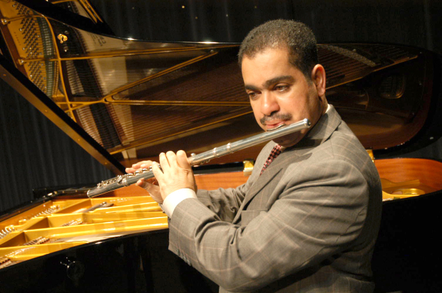 Piano-flute concert at cathedral
