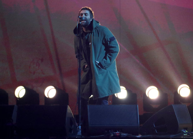 Celebs: PICTURES: Stormzy storms Brit Awards as grime makes mark at pop showpiece