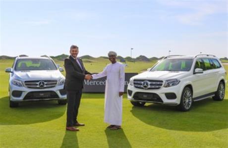 Al Mouj Golf, Mercedes-Benz Oman renew partnership