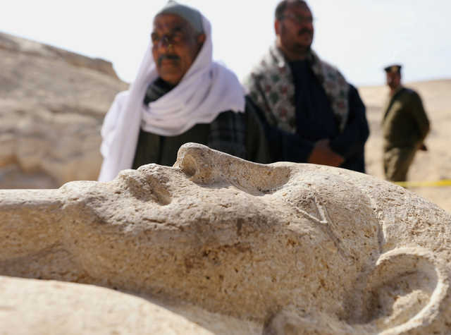 Middle East News: PHOTOS: Egypt uncovers ancient necropolis south of Cairo