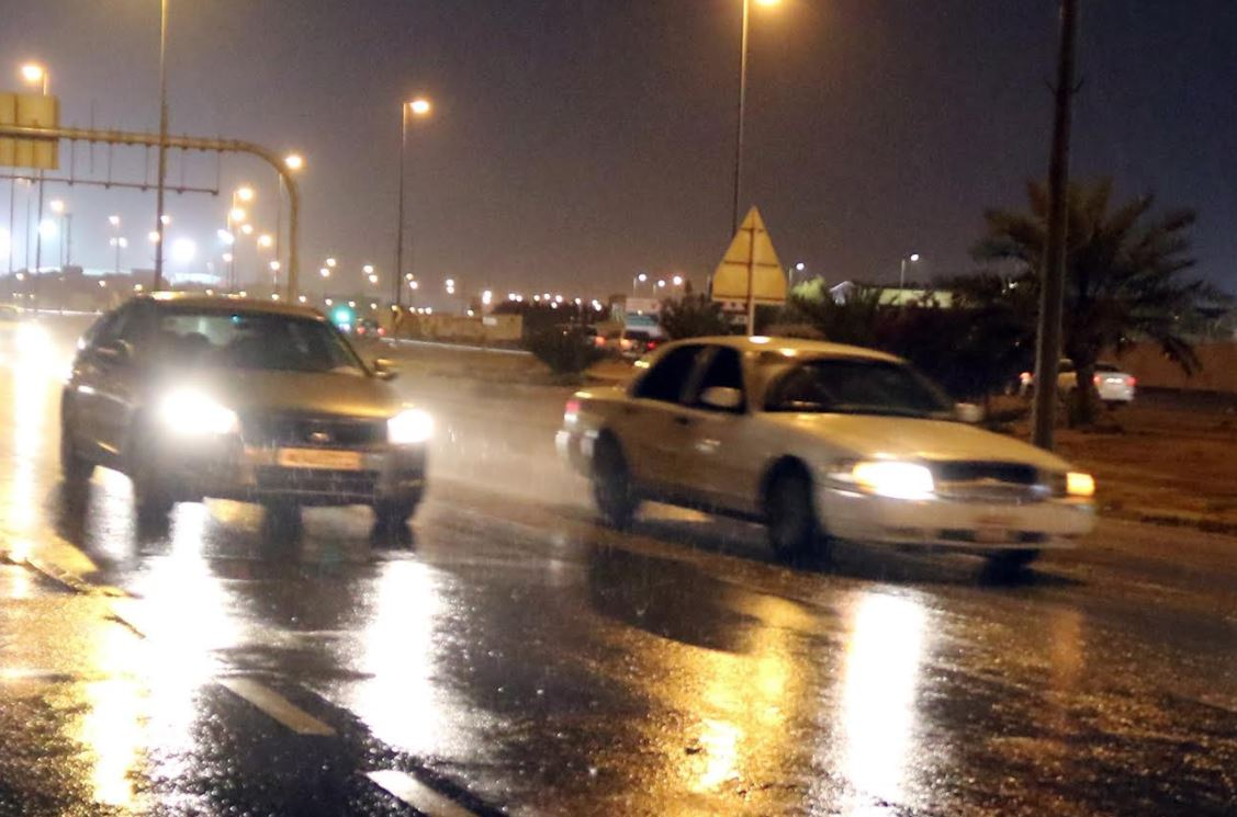 Rain ends dry spell; Cloudy weather to continue for next few days