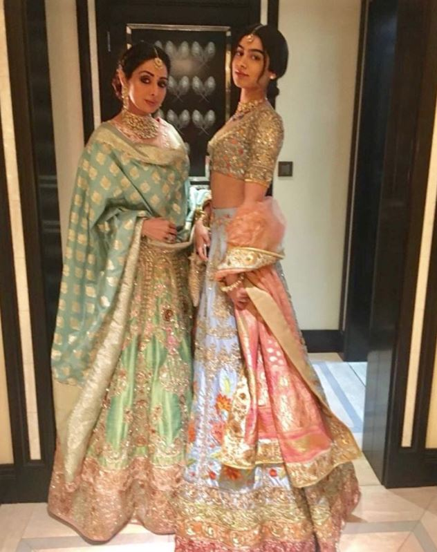 Last images of Sridevi at Mohit Marwah's wedding in Ras Al Kahimah