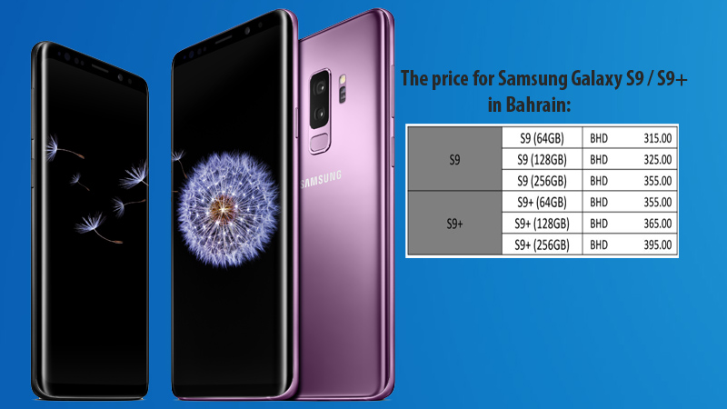 Samsung's S9 & S9 Plus available for pre-order in Bahrain
