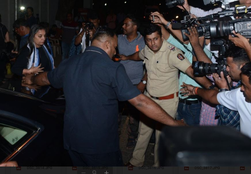 Bollywood: Sridevi's body taken to her residence in Mumbai