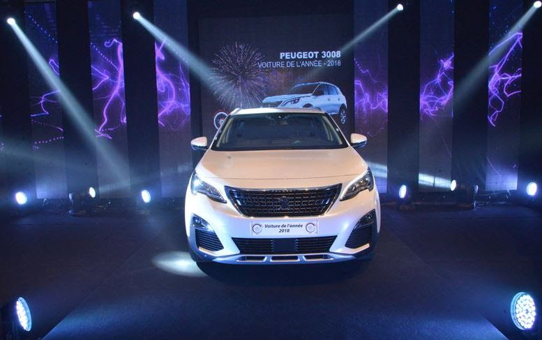 Peugeot 3008 elected '2018 Car of the Year' in Morocco