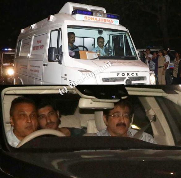 Sridevi's body taken to her residence in Mumbai