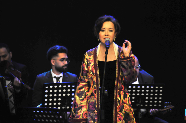 Famous works of great Arab poets were performed by Moroccan singer Karima Skalli at a concert held last night at the Cultural Hall. Sufi music blended with mystical songs and ancient tunes emphasising the strong relations between Bahrain and Morocco. The concert was part of the Spring of Culture festival organised by the Bahrain Authority for Culture and Antiquities, the Economic Development Board as well as the Shaikh Ebrahim bin Mohammed Al Khalifa Centre for Culture and Research.