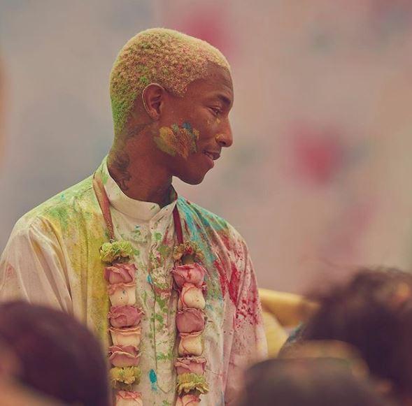Bollywood: Photos: Pharell Williams enjoys Holi celebrations with Ranveer Singh
