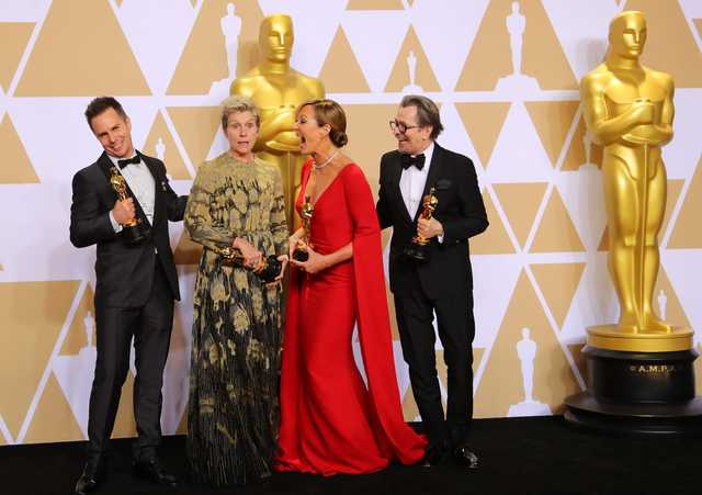 Hollywood: The award goes to: Winners of Oscars 2018