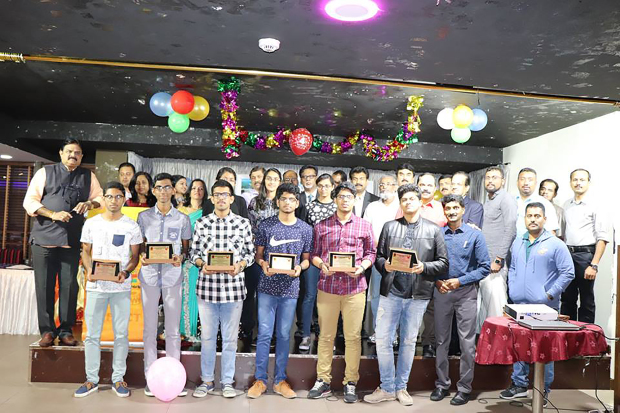 <p>Twenty students were honoured by the Palakkad Arts and Culture Theatre for successfully completing Grades 10 and 12. Students from the Indian School Bahrain and the New Indian School were honoured at a ceremony at The Food World Restaurant, Adliya.</p><p>Chief guest was psychological counsellor Dr John Panakkal and Indian School Bahrain vice-principal Anand R Nair who also presented the students with certificates and mementos.</p><p>Above, some of the students who were honoured. </p>