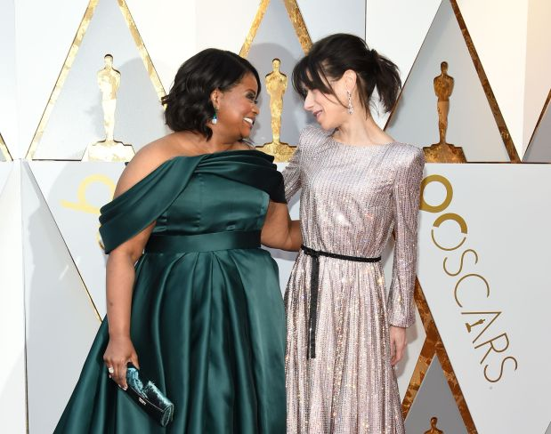 Hollywood: Oscars 2018: Red carpet glittered in anything-goes fashion attitude