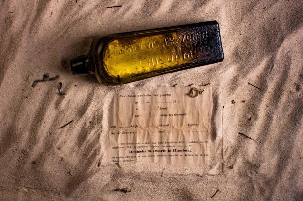 Oldest message in a bottle found at remote Australian beach
