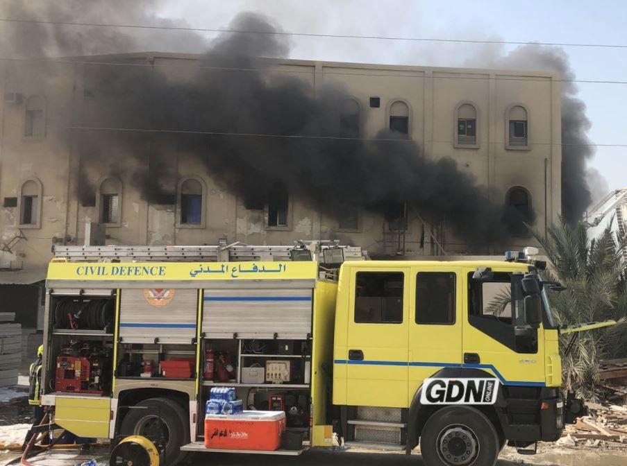 Bahrain News: Pictures & Videos: Blaze rips through three-storey building in West Eker