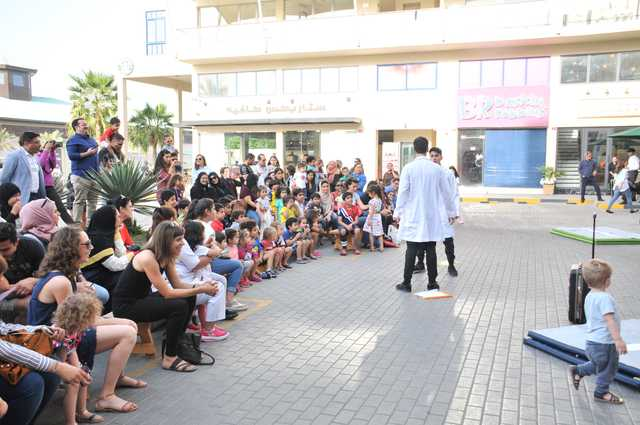 Photo Gallery: An interactive pop-up street performance opened at Nakheel Centre
