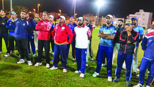 <div>Cricket Bahrain Association held a camp at Alba Club on March 4 and 5 ahead of the ICC T20 Sub Asia Qualifiers to be held in Kuwait in April. Forty-four players attended the camp. Above, some of the cricketers.</div>