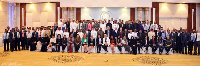 """<div> <div>Around 800 team members attended a group-wide roadshow held by Yusuf bin Ahmed Kanoo (YBA Kanoo Group). The week-long vision 2020 roadshow took place across four cities – Riyadh, Jeddah, Dammam and Manama. It aimed to impart YBA Kanoo's vision 2020 business strategy to employees. Group chief executive Dr Patrick Chenel highlighted the success of the first year of vision 2020, how the business is growing, and how to better serve clients. """"We wanted to give our employees a full picture of how the group's activities have unfolded over the past year, including showcasing the restructuring of some of our business groups, making them more robust and updated with the latest market trends and needs."""" Above, YBA Kanoo's Bahrain employees at the roadshow.</div> </div>"""