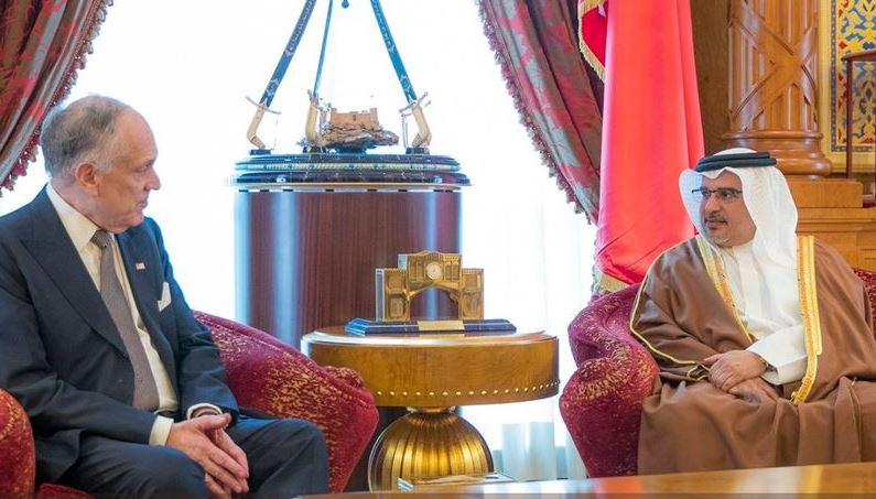 <p>His Royal Highness Prince Salman bin Hamad Al Khalifa, Crown Prince, Deputy Supreme Commander and First Deputy Prime Minister meets Ronald Lauder, President of the World Jewish Congress.</p>