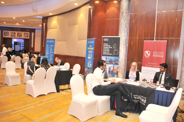 <p>Seventeen leading universities from the UK took part in a tertiary fair organised by international education specialists IDP Education yesterday. The IDP Study Abroad Roadshow was held at the Diplomat Radisson Blu Hotel and Spa in Manama. Students received counselling, interacted with representatives from the universities and learnt how to apply.</p>