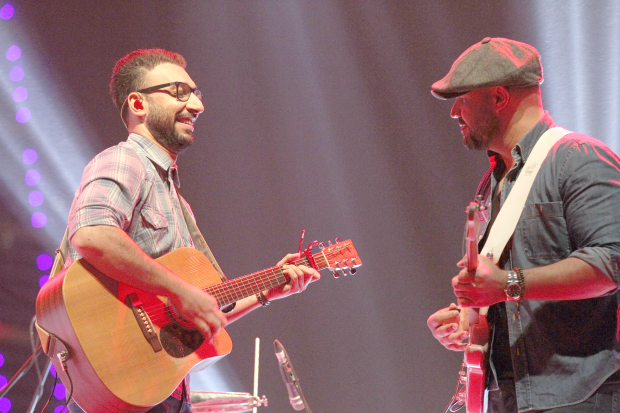 Local band Likwid took to the stage at Bahrain Bay last night. The four-member band comprising Ahmed Alqasim, Khalid Alshamlan, Ahmed Abdulaziz and Abdulrahman Malallah were accompanied by a number of local artists. The popular band performed original tracks from their debut EP, an unreleased track from their second EP and a number of covers. The performance, which was part of the Spring of Culture festival, featured collaborations with local artists such as Ala Ghawas, Noor Al Awadhi and Abdulla Haji. A report in yesterday's GDN mistakenly stated that the band performed on Friday night. This was the result of a technical error for which we apologise.