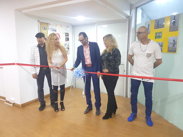Sixty guests attended the inauguration of a new dance floor at the new Jaff Fit Studios opposite Galleria Mall, Zinj. Up to 80 dancers can be accommodated on the newly renovated dance floor, one of the largest in Bahrain and one-of-a-kind dance space. Present at the opening were studio owner and Latin dance instructor Jaffar Al Alawi along with dignitaries and guests. Above, Mr Al Alawi, right, at the ribbon-cutting ceremony.