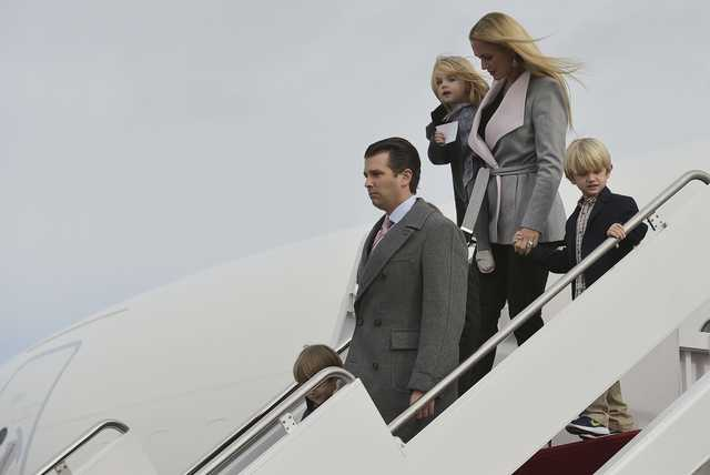 Donald Trump Jr.'s wife files for divorce in New York