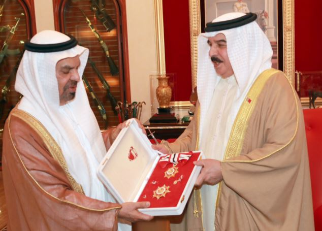 King hails ties with the UAE
