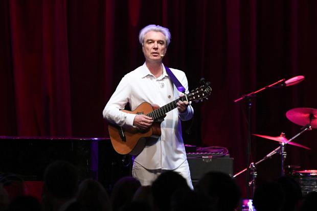 David Byrne scores first top 10 album in US