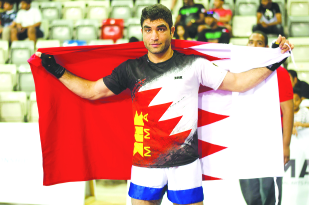 Bahrain win double gold at Arab event