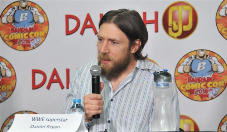 Daniel Bryan to return from retirement days after appearing in Bahrain Comic Con