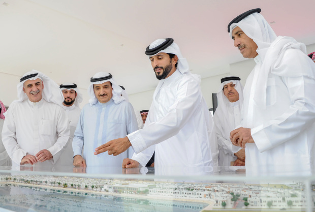 Housing project on track