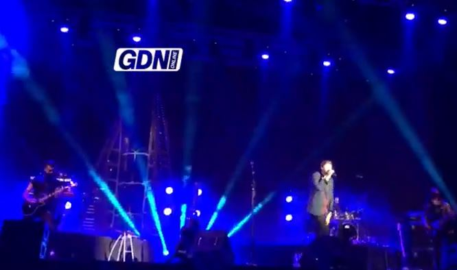 VIDEO: James Arthur performing live at Bahrain Bay