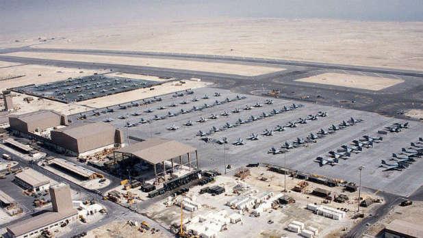 US shifts Qatar base to Saudi