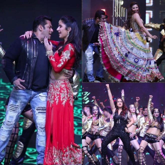 Salman Khan-Katrina share same coffee mug at press meet then light up stage with their sizzling chemistry