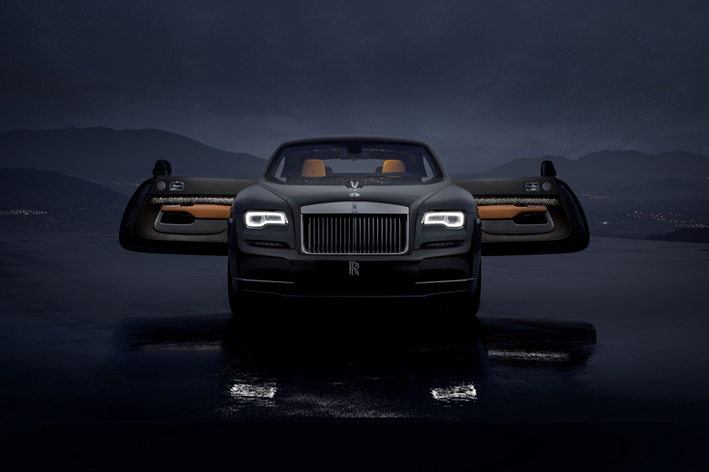 Rolls-Royce unveils Wraith Luminary Collection of 55 cars
