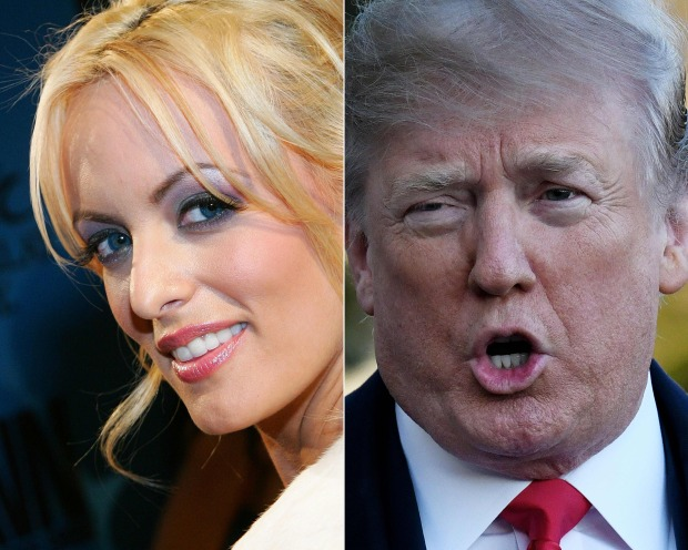 Porn star sues Trump's personal lawyer for defamation