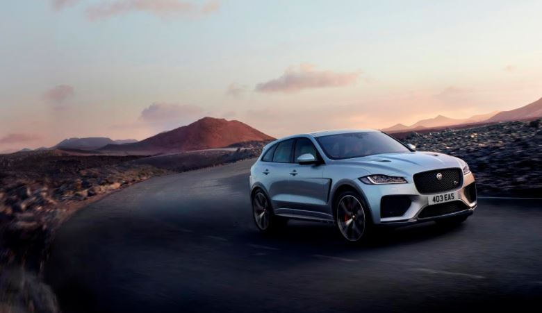The Jaguar F-PACE SVR: Sports car performance, SUV design