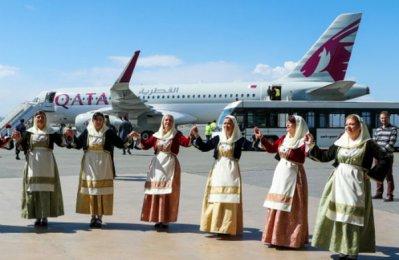 Qatar Airways inaugurates new service to Thessaloniki