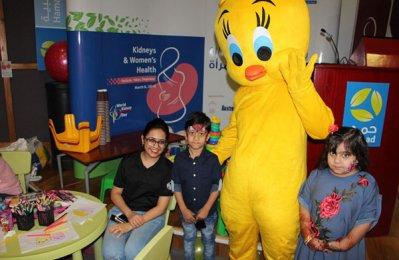 City Centre Rotana Doha cheer up kids with kidney disease