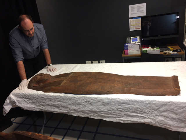 Once overlooked, 2,500-year old coffin may offer clues into ancient Egypt
