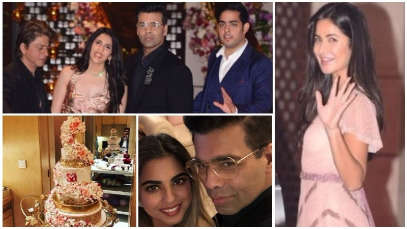 Inside pictures from Ambani's grand engagement party!